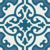 Gạch bông CTS 84.5(1-4-46) - Encaustic cement tile CTS 84.5(1-4-46)