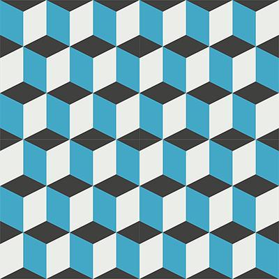 Gạch bông CTS 9.2(4-13-16)-4 viên - Encaustic cement tile CTS 9.2(4-13-16)-4 tiles