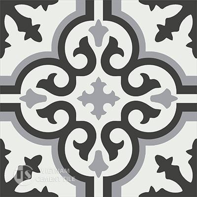 Gạch bông CTS 1.11(4-9-13) - Encaustic cement tile CTS 1.11(4-9-13)
