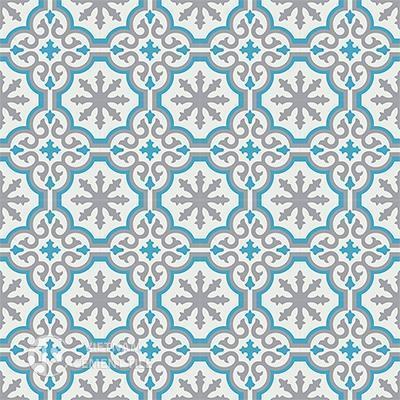 Gạch bông CTS 1.20(4-9-16) - 16 viên - Encaustic cement tile CTS 1.20(4-9-16)-16 tiles