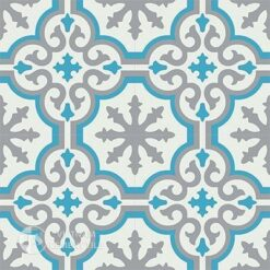 Gạch bông CTS 1.20(4-9-16) - 4 viên - Encaustic cement tile CTS 1.20(4-9-16)-4 tiles