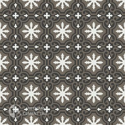 Gạch bông CTS 1.31(4-13-28)-16 viên - Encaustic cement tile CTS 1.31(4-13-28)-16 tiles