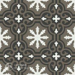 Gạch bông CTS 1.31(4-13-28)-4 viên - Encaustic cement tile CTS 1.31(4-13-28)-4 tiles