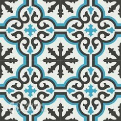 Gạch bông CTS 1.99(4-13-16) - 4 viên - Encaustic cement tile CTS 1.99(4-13-16)-4 tiles
