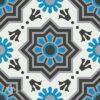 Gạch bông CTS 113.1(4-8-9-13) – 4 viên – Encaustic cement tile CTS 113.1(4-8-9-13)-4 tiles
