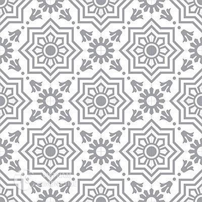 Gạch bông CTS 113.6(4-9)-16 viên - Encaustic cement tile CTS 113.6(4-9)-16 tiles