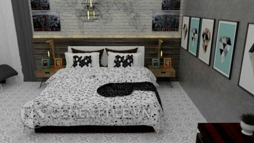 Gạch bông CTS 113.6(4-9) - Encaustic cement tile CTS 113.6(4-9)