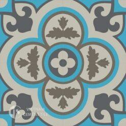 Gạch bông CTS 129.4(16-27-28-32) - 4 viên - Encaustic cement tile CTS 129.4(16-27-28-32)-4 tiles