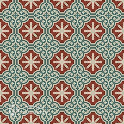 Gạch bông CTS 1.32(12-24-30) -16 viên - Encaustic cement tile CTS 1.32(12-24-30)-16 tiles