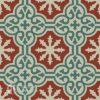 Gạch bông CTS 1.32(12-24-30) -4 viên – Encaustic cement tile CTS 1.32(12-24-30)-4 tiles