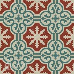 Gạch bông CTS 1.32(12-24-30) -4 viên - Encaustic cement tile CTS 1.32(12-24-30)-4 tiles