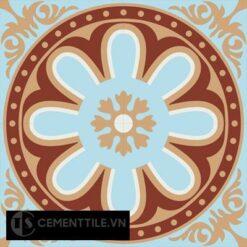 Gạch bông CTS 155.1(2-4-44-62) - 4 viên - Encaustic cement tile CTS 155.1(2-4-44-62)-4 tiles