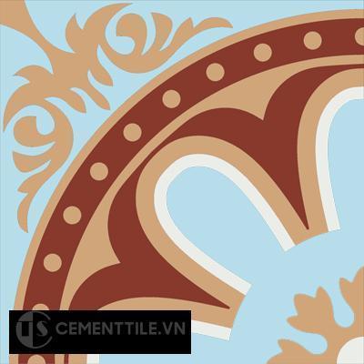 Gạch bông CTS 155.1(2-4-44-62) - Encaustic cement tile CTS 155.1(2-4-44-62)