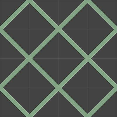 Gạch bông CTS 156.1(7-15) - 16 viên - Encaustic cement tile CTS 156.1(7-15) - 16 tiles