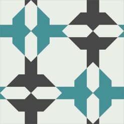 Gạch bông CTS 158.1(4-13-148) - Encaustic cement tile CTS 158.1(4-13-148)