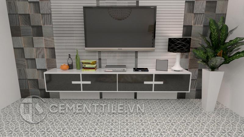 Gạch bông CTS 18.11(3-4-9) - Encaustic cement tile CTS 18.11(3-4-9)