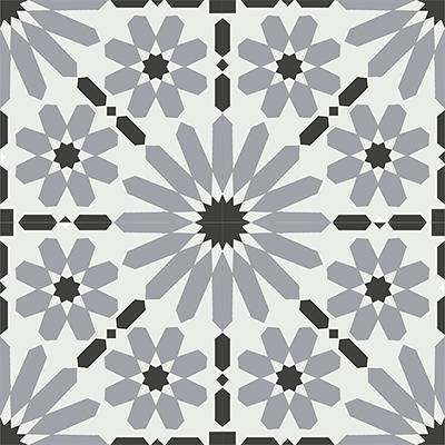 Gạch bông CTS 19.5(4-9-13)-4 viên - Encaustic cement tile CTS 19.5(4-9-13)-4 tiles