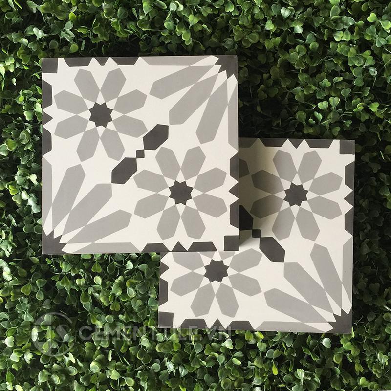 Gạch bông CTS 19.5(4-9-13) - Encaustic cement tile CTS 19.5(4-9-13)