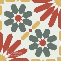 Gạch bông CTS 19.6(3-4-5-6) - Encaustic cement tile CTS 19.6(3-4-5-6)