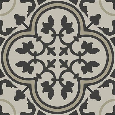 Gạch bông CTS 2.14(13-27-83) - 4 viên - Encaustic cement tile CTS 2.14(13-27-83)-4 tiles