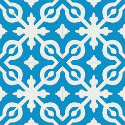 Gạch bông CTS 22.2(4-8)-4 viên - Encaustic cement tile CTS 22.2(4-8)-4 tiles