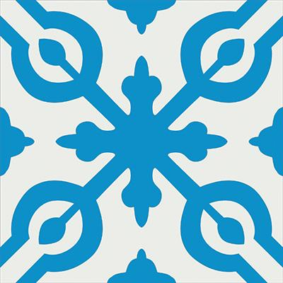 Gạch bông CTS 22.7(4-8) - Encaustic cement tile CTS 22.7(4-8)