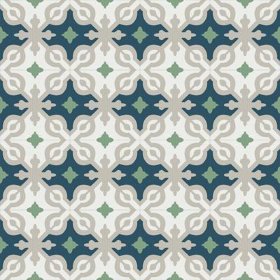 Gạch bông CTS 22.9(4-7-21-27)-16 viên - Encaustic cement tile CTS 22.9(4-7-21-27)-16 tiles