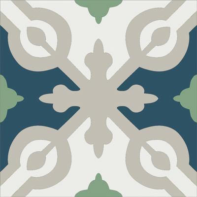Gạch bông CTS 22.9(4-7-21-27) - Encaustic cement tile CTS 22.9(4-7-21-27)
