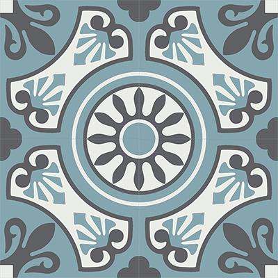 Gạch bông CTS 26.5(4-29-32)-4 viên - Encaustic cement tile CTS 26.5(4-29-32)-4 tiles