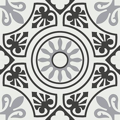 Gạch bông CTS 26.6(4-9-13) - 4 viên - Encaustic cement tile CTS 26.6(4-9-13)-4 tiles