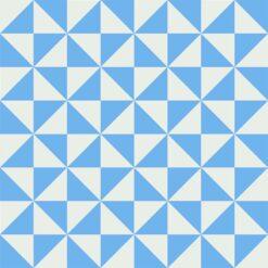 Gạch bông CTS 34.4(4-16)-4 viên - Encaustic cement tile CTS 34.4(4-16)-4 tiles