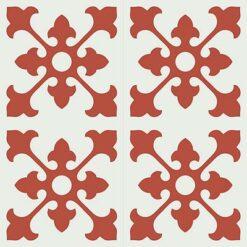 Gạch bông CTS 39.2(4-5)-4 viên - Encaustic cement tile CTS 39.2(4-5)-4 tiles