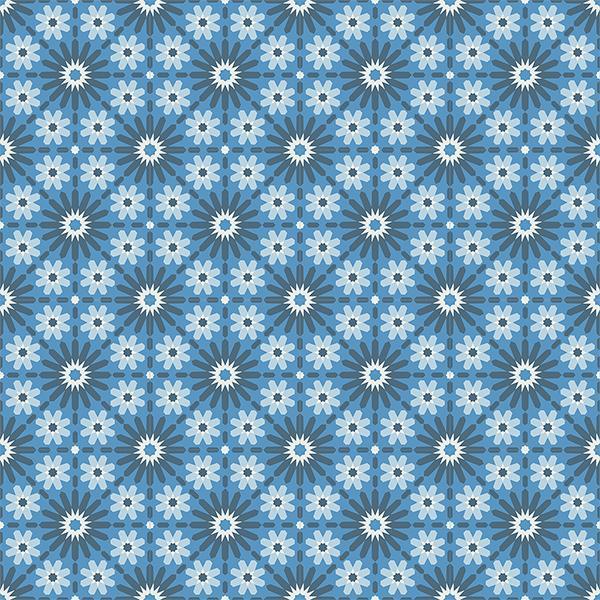 Gạch bông CTS 45.2(1-2-4-31) - 16 viên - Encaustic cement tile CTS 45.2(1-2-4-31)- 16 tiles