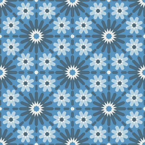 Gạch bông CTS 45.2(1-2-4-31) - 4 viên - Encaustic cement tile CTS 45.2(1-2-4-31)- 4 tiles