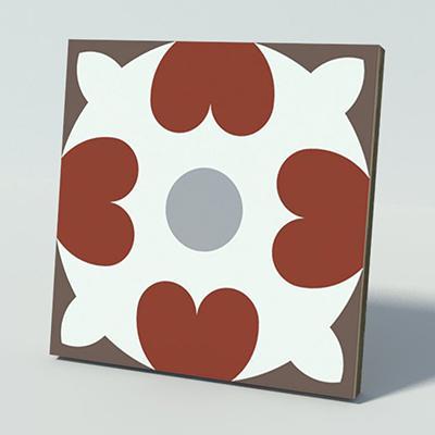 Gạch bông CTS 46.2(4-9-14-30) - Encaustic cement tile CTS 46.2(4-9-14-30)