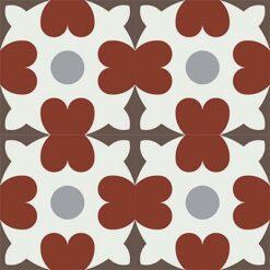 Gạch bông CTS 46.2(4-9-14-30)- 4 viên - Encaustic cement tile CTS 46.2(4-9-14-30)-4 tiles
