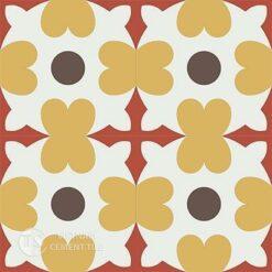 Gạch bông CTS 46.3(4-5-6-14)- 4 viên - Encaustic cement tile CTS 46.3(4-5-6-14)-4 tiles