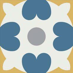 Gạch bông CTS 46.5(1-4-6-9) - Encaustic cement tile CTS 46.5(1-4-6-9)