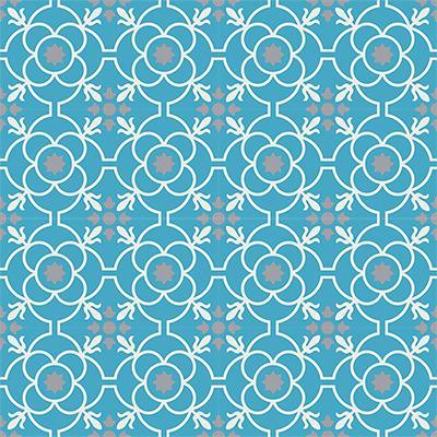 Gạch bông CTS 51.3(4-9-16) - 16 viên - Encaustic cement tile CTS 51.3(4-9-16) - 16 viên
