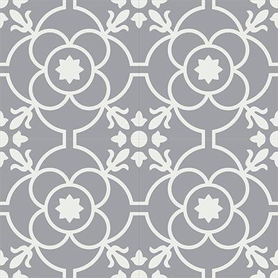 Gạch bông CTS 51.7(4-9) - 4 viên - Encaustic cement tile CTS 51.7(4-9) - 4 tiles