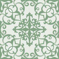 Gạch bông CTS 52.2(4-7) - 4 viên - Encaustic cement tile CTS 52.2(4-7)-4 tiles