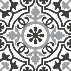 Gạch bông CTS 60.1(4-9-13) - 4 viên - Encaustic cement tile CTS 60.1(4-9-13)_4 tiles