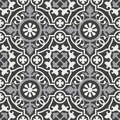 Gạch bông CTS 60.3(4-9-13) - 16 viên - Encaustic cement tile CTS 60.3(4-9-13)-16 tiles