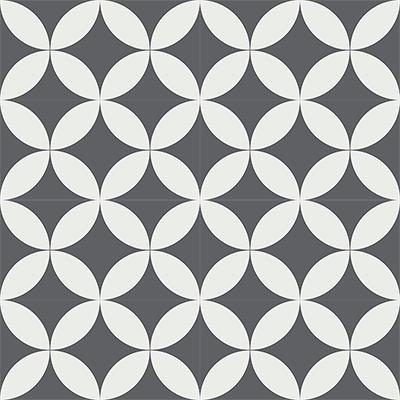 Gạch bông CTS 7.4(4-32) - 16 viên - Encaustic cement tile CTS 7.4(4-32)-16 tiles