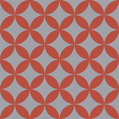 Gạch bông CTS 7.6(5-9) - 16 viên - Encaustic cement tile CTS 7.6(5-9)-16 tiles