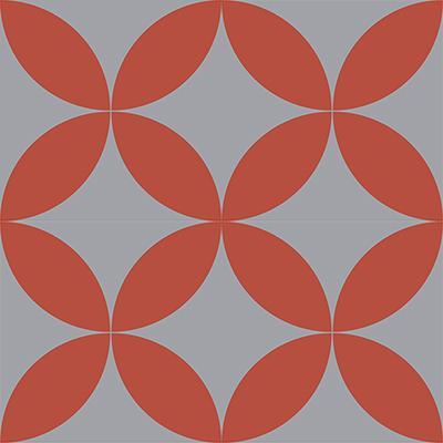 Gạch bông CTS 7.6(5-9) - 4 viên - Encaustic cement tile CTS 7.6(5-9)-4 tiles