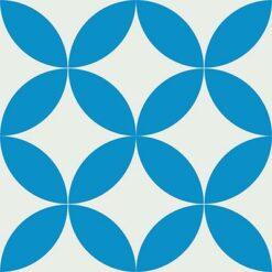 Gạch bông CTS 7.7(4-8) - 4 viên - Encaustic cement tile CTS 7.7(4-8)-4 tiles