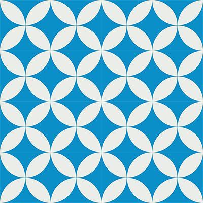 Gạch bông CTS 7.8(4-8) - 16 viên - Encaustic cement tile CTS 7.8(4-8)-16 tiles