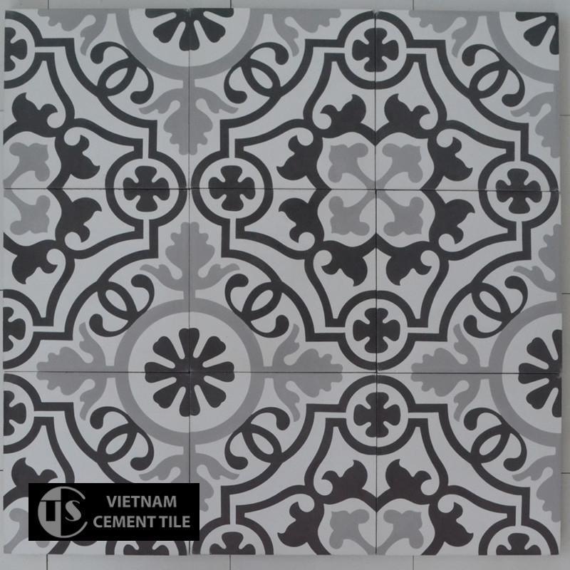 Gạch bông CTS 60.1(4-9-13) - Encaustic cement tile CTS 60.1(4-9-13)