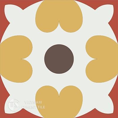 Gạch bông CTS 46.3(4-5-6-14) - Encaustic cement tile CTS 46.3(4-5-6-14)